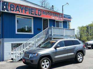 Used 2012 Jeep Grand Cherokee Laredo 4x4 **Leather/Navigation/Reverse Camera** for sale in Barrie, ON