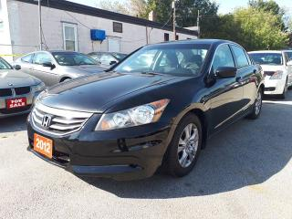 Used 2012 Honda Accord Sdn SE, Certified for sale in Scarborough, ON