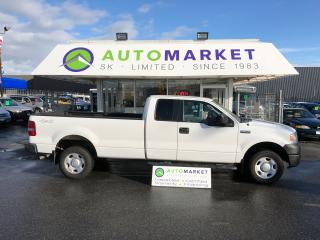 Used 2006 Ford F-150 SUPERCAB 4X4 LONGBOX FINANCE IT! for sale in Langley, BC