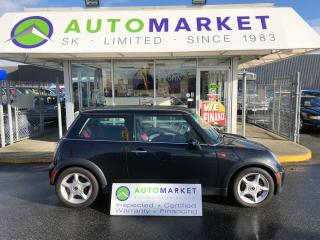 Used 2005 MINI Cooper PANO ROOF, LEATHER, NO ACCIDENTS! for sale in Langley, BC