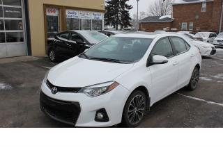 Used 2014 Toyota Corolla S LEATHER SUNROOF HEATED SEATS for sale in Brampton, ON