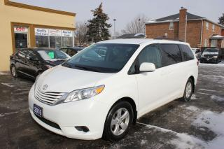 Used 2016 Toyota Sienna LE 8 Passengers Power Doors for sale in Brampton, ON