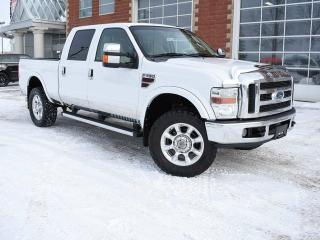 Used 2008 Ford F-350 Lariat 4x4 SD Crew Cab 156 in. WB SRW for sale in Red Deer, AB