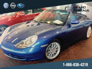 Used 1999 Porsche Carrera 911 Carrera Cabriolet 3.4L + MANUEL + MA for sale in Riviere-du-loup, QC