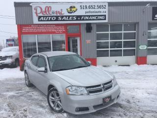 Used 2012 Dodge Avenger SXT 4 CYLINDER FUEL SAVER! for sale in London, ON