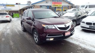 Used 2013 Acura MDX Tech Pkg/BACKUP CAMERA/NAVI /IMMACULATE $ 19999 for sale in Brampton, ON