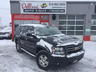 Used 2007 Chevrolet Tahoe LT 4X4 LEATHER/SUNROOF/BLUETOOTH/CAPTAINS CHAIRS for sale in London, ON