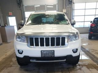 Used 2013 Jeep Grand Cherokee Overland,Navi,Leather,Certified for sale in Aurora, ON