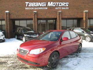 Used 2009 Hyundai Elantra 5 SPEED MANUAL   HEATED SEATS   POWER GROUP   for sale in Mississauga, ON