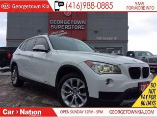 Used 2013 BMW X1 xDrive35i | CLEAN CARPROOF | PANO ROOF | NAVI for sale in Georgetown, ON