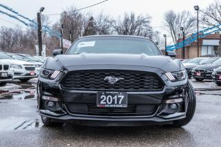 Used 2017 Ford Mustang ECOBOOST/LOW KMS/NO ACCIDENT/BACKUP CAMERA/ALLOYS for sale in Brampton, ON