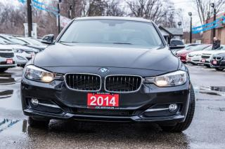Used 2014 BMW 3 Series 320iXDrive/NO ACCIDENT/LEATHER/ROOF/ALLOYS/LOW KMS for sale in Brampton, ON