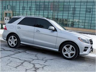 Used 2013 Mercedes-Benz ML 350 AMG|NAVI|REARCAM|PANOROOF|BLUETOOTH for sale in Scarborough, ON