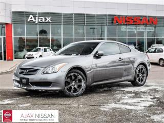 Used 2009 Infiniti G37 Coupe Premium Leather*Heated Seats*AWD for sale in Ajax, ON
