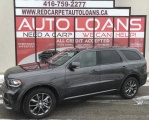 Used 2017 Dodge Durango GT-ALL CREDIT ACCEPTED for sale in Scarborough, ON