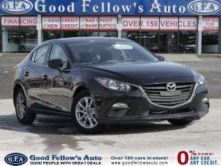 Used 2014 Mazda MAZDA3 GS MODEL, SKYACTIVE, REARVIEW CAMERA for sale in North York, ON