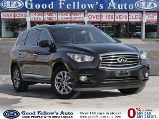 Used 2014 Infiniti QX60 PREMIUM, AWD, 7 PASSENGER, LEATHER SEATS, SUNROOF for sale in North York, ON
