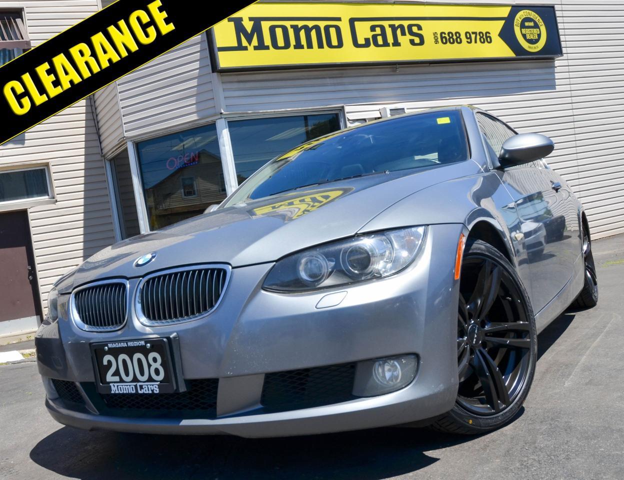 2008 BMW 3 Series NAV! Sunroof! Leather! ONLY $188/bi-weekly!