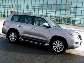 Used 2008 Lexus LX 570 NAVI|DVD|360 CAM|RUNNING BOARDS for sale in Scarborough, ON