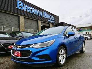 Used 2017 Chevrolet Cruze LT, Moonroof, Easy financing, Htd seats for sale in Surrey, BC