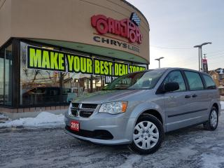Used 2015 Dodge Grand Caravan CANADA VALUE PACKAGE for sale in Scarborough, ON