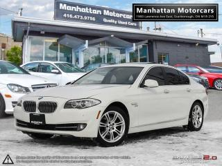 Used 2012 BMW 5 Series 528i X-DRIVE EXECUTIVE PKG |NAV|B.UP CAMERA|PHONE for sale in Scarborough, ON