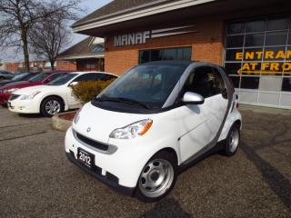 Used 2012 Smart fortwo Pure Leather Low Km Certified* for sale in Concord, ON
