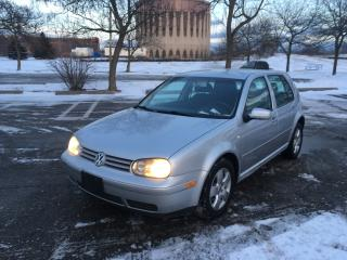 Used 2001 Volkswagen Golf GLS TDI for sale in Toronto, ON