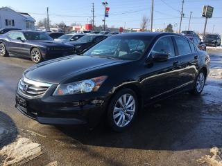 Used 2012 Honda ACCORD EX-L * LEATHER * SUNROOF * HEATED SEAT * LOW KM for sale in London, ON