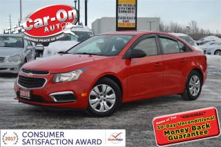 Used 2015 Chevrolet Cruze AUTO A/C ONSTAR BLUETOOTH ON 34,000 KM for sale in Ottawa, ON