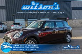 Used 2017 MINI Cooper CLUBMAN! PANORAMIC ROOF! LEATHER! HEATED SEATS! POWER PACKAGE! for sale in Guelph, ON