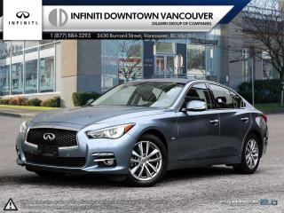 Used 2016 Infiniti Q50 2.0T AWD Premium with Driver Assistance Package  NAVAGATION !! for sale in Vancouver, BC