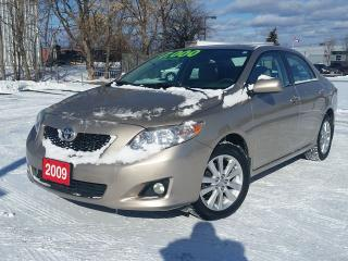 Used 2009 Toyota Corolla LE for sale in Beamsville, ON