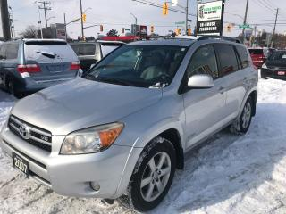 Used 2007 Toyota RAV4 Limited l Leather l 4WD l No Accidents for sale in Waterloo, ON