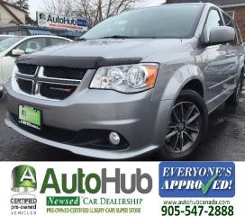 Used 2016 Dodge Grand Caravan Premium Plus-LEATHER-NAV-POWER DOORS/TAILGATE-DVD for sale in Hamilton, ON