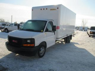 Used 2017 GMC Savana 3500 16 FT UNICELL BODY for sale in London, ON