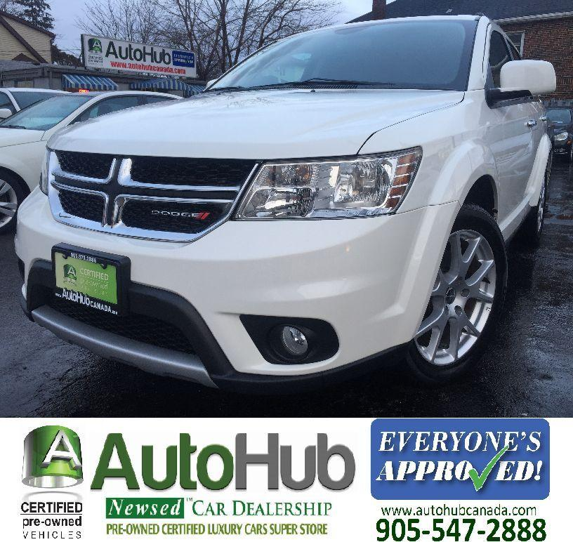 Used 2016 Dodge Journey R/T-AWD-7 SEATER-HEATED SEATS For