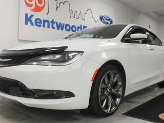 Used 2016 Chrysler 200 S- Super Stylin' and Stunning for sale in Edmonton, AB