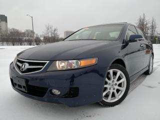 Used 2008 Acura TSX ACCIDENT FREE|LEATHER|SUNROOF|BLUETOOTH for sale in Oakville, ON