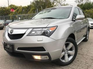 Used 2011 Acura MDX Tech pkg|ACCIDENT FREE|LEATHER|NAVIGATION|SUNROOF for sale in Burlington, ON