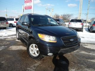 Used 2008 Hyundai Santa Fe AUTO SUNROOF HEATED LEATHER  PL PW PM PS A/C for sale in Oakville, ON