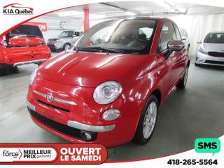 Used 2013 Fiat 500 Lounge T.ouvrant for sale in Quebec, QC