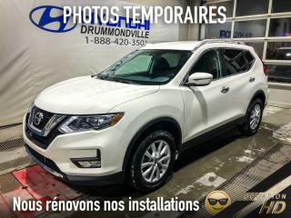 Used 2017 Nissan Rogue SV + AWD + CAMERA + SIÈGES CHAUFF. + CRU for sale in Drummondville, QC