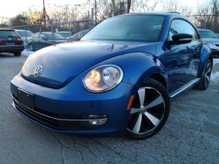 Used 2012 Volkswagen Beetle 2.0T Turbo w/Sun/Sound/Nav for sale in Oakville, ON