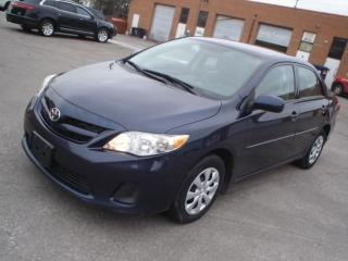 Used 2012 Toyota Corolla AUTO,4 DOOR for sale in Mississauga, ON