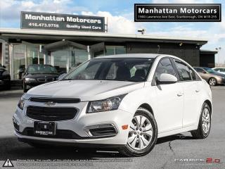 Used 2015 Chevrolet Cruze LT AUTO |BLUETOOTH|CAMERA|WARRANTY|46000KM for sale in Scarborough, ON