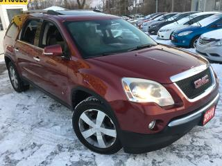 Used 2010 GMC Acadia Auto / Leather / Sunroof / Alloys / DVD / Like NEW for sale in Scarborough, ON