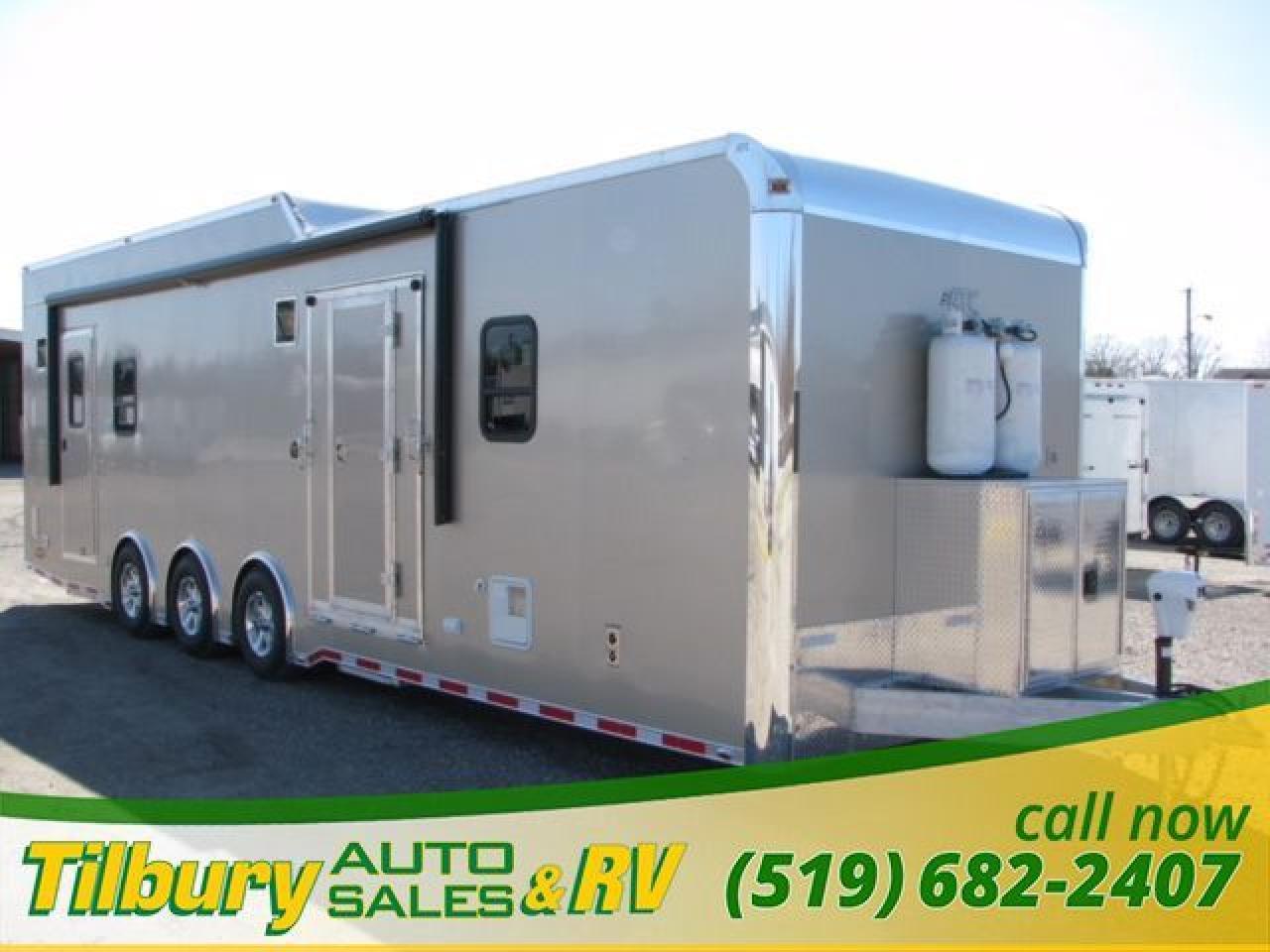 2009 ATC Aluminum Toy Hauler TOY-HAULER TRAVEL-TRAILER UTILITY-TRAILER