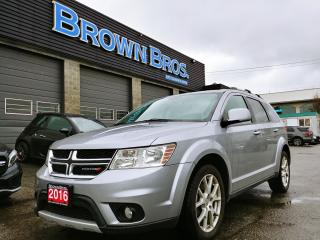 Used 2016 Dodge Journey R/T, Local, AWD, Lthr, Htd Seats for sale in Surrey, BC