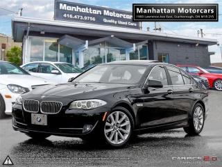 Used 2013 BMW 5 Series 528i X-DRIVE PREMIUM |SIDE&B.UP CAMERA|PHONE for sale in Scarborough, ON